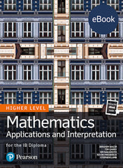 Pearson IB Mathematics Applications and Interpretation HL (Ebook only )