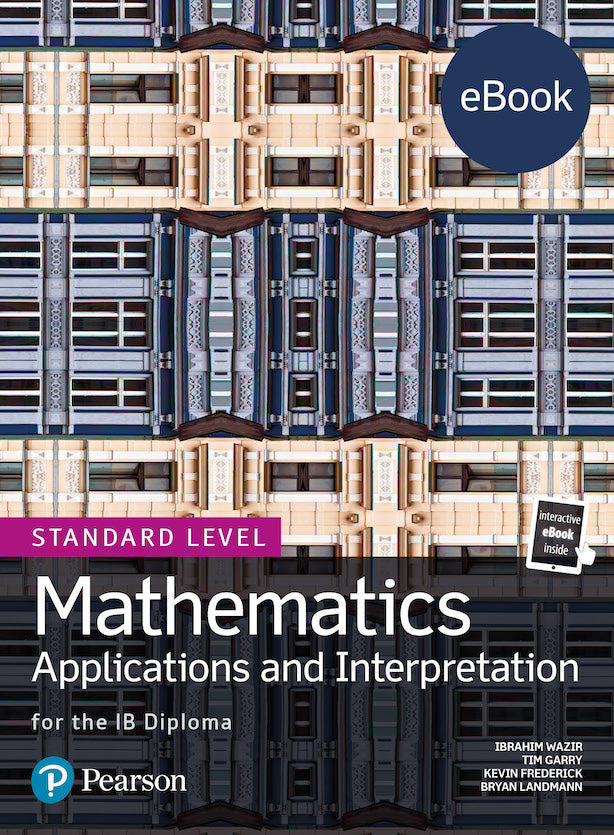 Pearson IB Mathematics Maths Applications and Interpretation SL (eBook edition) 4 Year License