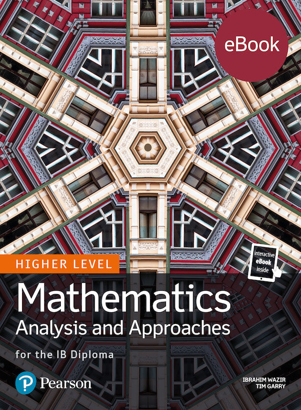 Pearson IB Mathematics Analysis and Approaches HL (eBook edition) 4 Year License