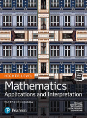 Pearson IB Mathematics Applications and Interpretation HL (Text & Ebook bundle)