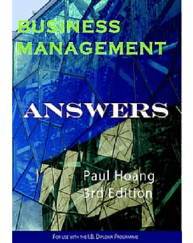 Business Management Answer Book for 3rd Edition (PDF) -IBID Press IBSOURCE