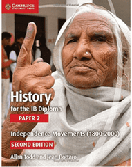 History for the IB Diploma Paper 2: Independence Movements -Cambridge University Press IBSOURCE - 1
