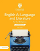 9781108704939, English A: Language and Literature for the IB Diploma Coursebook