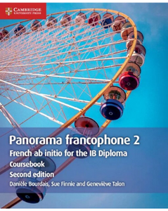 9781108760430, Panorama francophone 2 Coursebook with Cambridge Elevate edition (2 Years): French ab initio for the IB Diploma (French Edition)