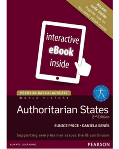 9781292102580, Pearson Baccalaureate History: Authoritarian states 2nd edition eText