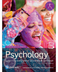 Pearson Psychology for the IB Diploma (Book and E text Bundle)
