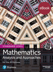 Pearson IB Mathematics Analysis and Approaches SL (ebook only)