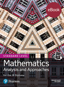 Pearson IB Mathematics Analysis and Approaches SL (eBook edition) 4 Year License