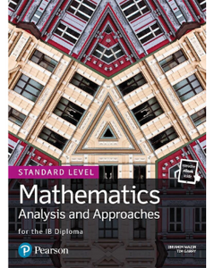 9781292267418, IB Mathematics Analysis and Approaches Standard Level (Text and ebook Bundle) New 2019