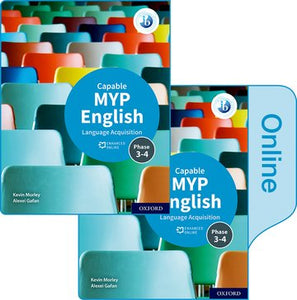 MYP English Language Acquisition (Capable) Print and Enhanced Online Book Pack (NYP Due January 2021)