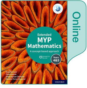MYP Mathematics 4&5 Extended Enhanced Online Book (New)