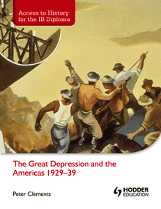 Access to History for the IB Diploma: The Great Depression and the Americas - IBSOURCE