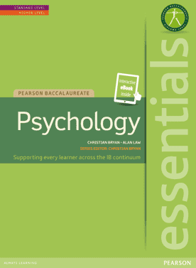 Essentials: Psychology - (Textbook + eBook) -Pearson Education IBSOURCE