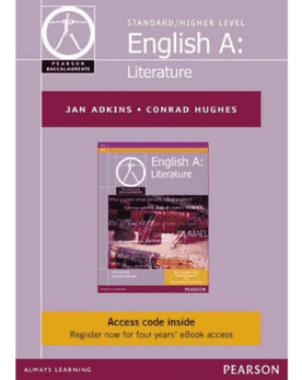 English A: Literature (eText only) -Pearson Education IBSOURCE