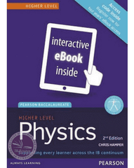 Pearson Baccalaureate Physics Higher Level 2nd edition ebook only edition