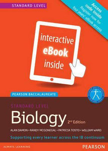 9781447959052, Pearson Baccalaureate Biology for the IB Diploma: Pearson Baccalaureate Biology Standard Level 2nd edition ebook only edition (etext) for the IB Diploma Standard Level