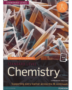 9781447959069, Pearson Bacc Chem SL 2e bundle (2nd Edition) (Pearson International Baccalaureate Diploma: International Edition