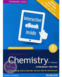 9781447959076, Pearson Baccalaureate Chemistry Standard Level 2nd edition ebook only edition (etext) for the IB Diploma