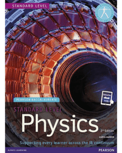 Standard Level Physics 2nd edition book + eBook - IBSOURCE