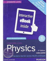 Pearson Baccalaureate Physics Standard Level 2e (eBook edition) 4 Year License