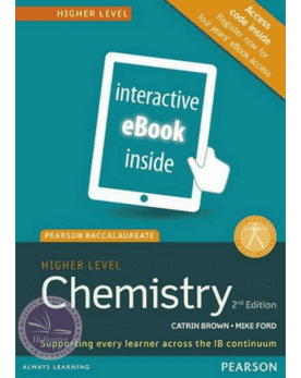 Pearson Baccalaureate Chemistry Higher Level 2nd edition (eText only) -Pearson Education IBSOURCE