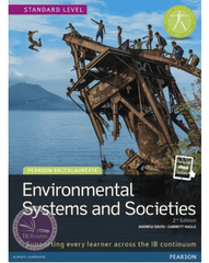 Pearson Baccalaureate: Environmental Systems and Societies 2nd Edition textbook + eText bundle