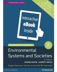 Pearson Baccalaureate: Environmental Systems and Societies 2nd Edition eText only