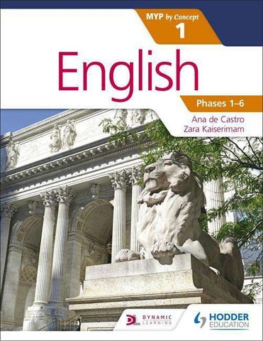 English for the IB MYP 1 -Hodder Education IBSOURCE