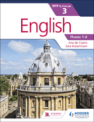 English for the IB MYP 3 NOT YET PUBLISHED DUE AUGUST 25, 2017 -Hodder Education IBSOURCE