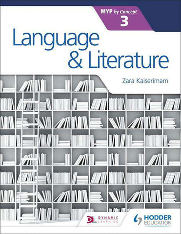 Language and Literature for the IB MYP 3 NOT YET PUBLISHED DUE MAY 25, 2018