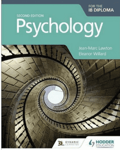 9781510425774,Psychology for the IB Diploma Second edition