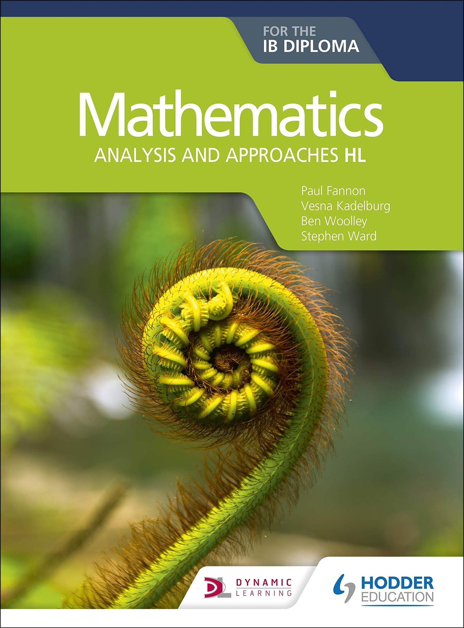 Mathematics for the IB Diploma: Analysis and approaches HL (NYP Due September 2019)