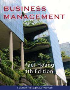 IB Business Management 4th Edition (New and Updated 2018)