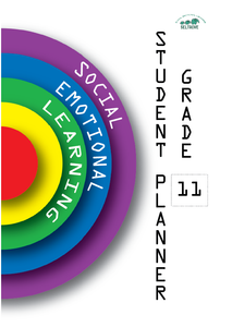Social-Emotional Learning (SEL) Student Planner Grade 11 (2021)