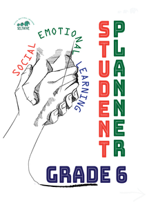 Social-Emotional Learning (SEL) Student Planner Grade 6 (IN STOCK)