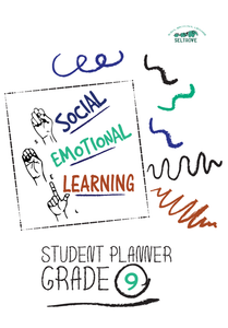Social-Emotional Learning (SEL) Student Planner Grade 9 (IN STOCK)