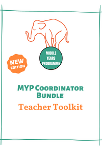 MYP Coordinator Teacher Toolkit Bundle (pick any 7 toolkit subjects/7 user licenses)
