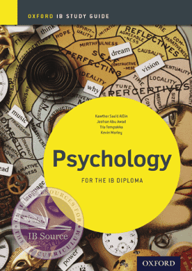 IB Psychology: Study Guide -Oxford University Press IBSOURCE