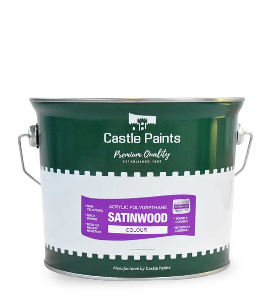 Acrylic Satinwood Colour - 2.5L