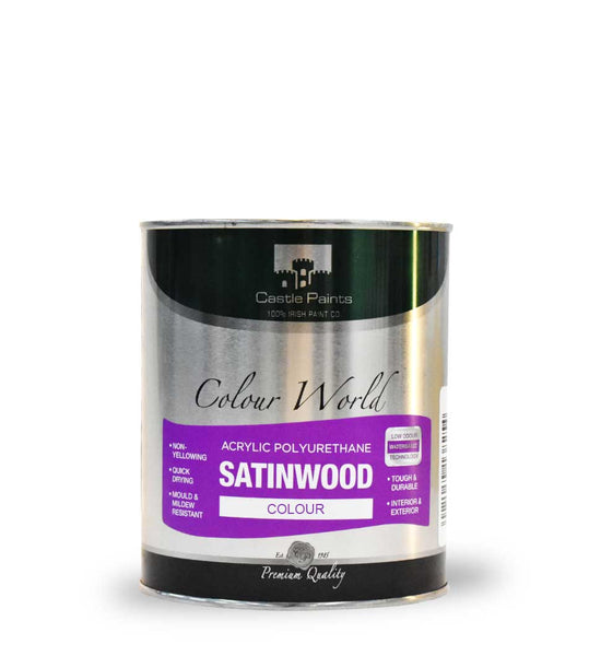 Acrylic Satinwood Colour - 750ml