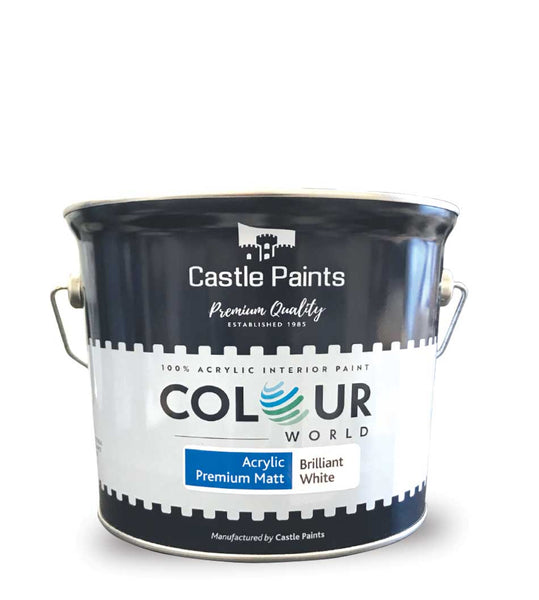 Colour World Acrylic Premium Matt - 2.5L (Walls & Ceilings)