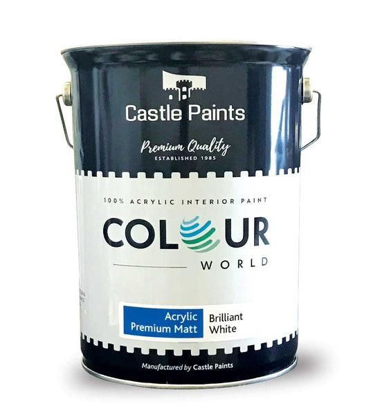 Colour World Acrylic Premium Matt - 5L (Walls & Ceilings)