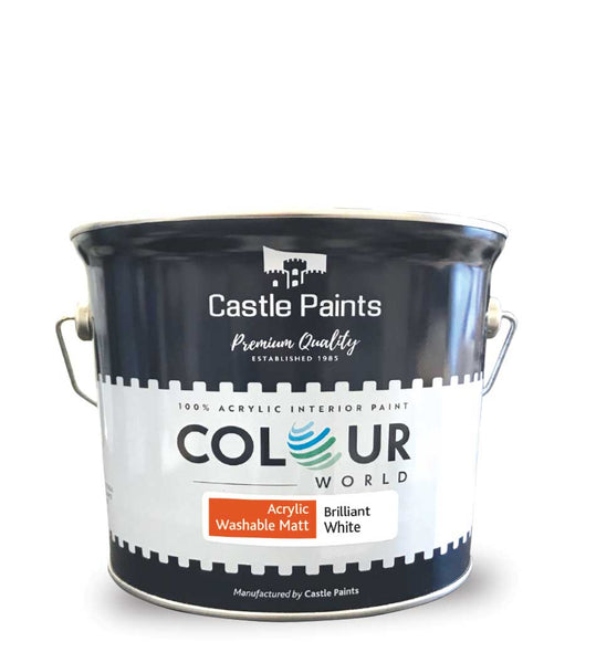Colour World Acrylic Washable Matt - 2.5L