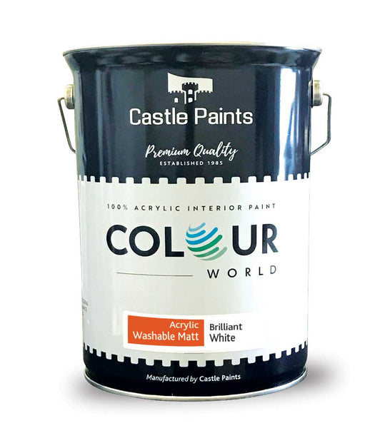Colour World Acrylic Washable Matt - 5L