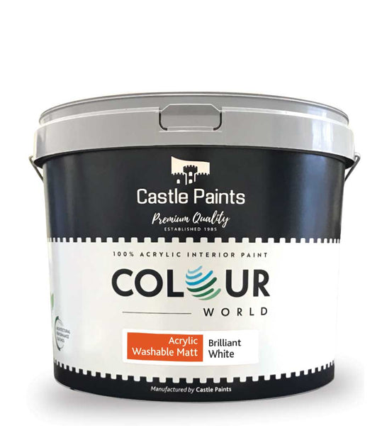 Colour World Acrylic Washable Matt - 10L