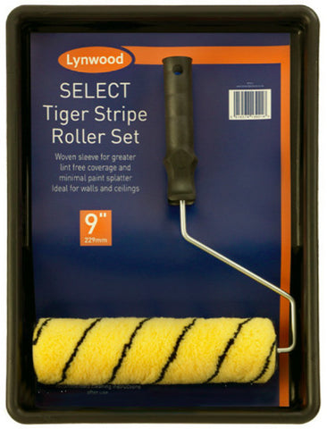 "9"" Tiger Stripe Roller Set"