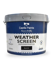 Weather Screen - Black