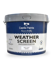 Weather Screen - White