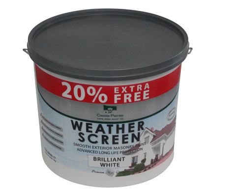Weather-Screen Masonry Paint-special offer