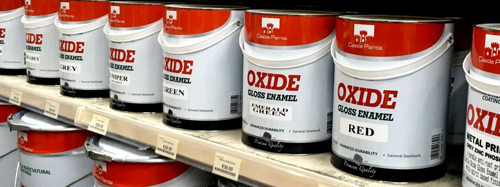 Image of Oxide Paint Cans